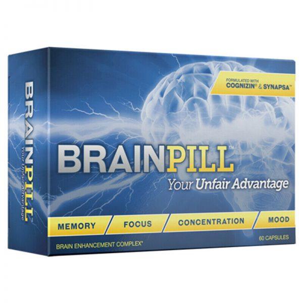 BRAINPILL 2 Months Nootropics Focus Memory Mental Stamina Brain Pill Supplement 2