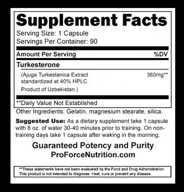 T40 TURKESTERONE XTREME GROWTH Strength BOOST Adaptogen Bodybuilding Supplements 2