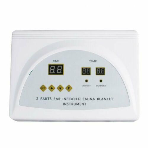 650W Far Infrared Heating Blanket Thermal Bag Weight Loss Sauna Blanket Spa 110V 2