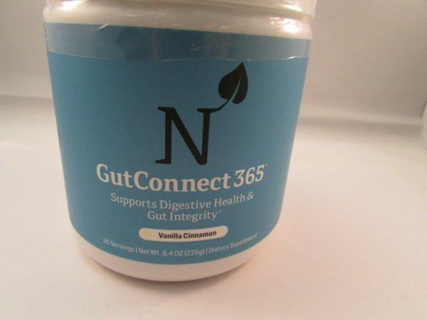 UNITED NATURALS Gut Connect 365 Dietary Supplement Vanilla Cinnamon 8.4 oz. 1
