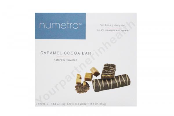 NUMETRA ROBARD BARS- CARAMEL COCOA BARS -6 BOXES-42 SERVINGS-FRESH-LIKE OPTIFAST