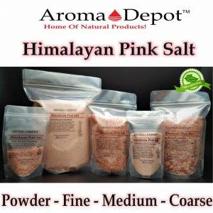 Pink Crystal Himalayan Sea Salt 84 Minerals FDA Kosher Gourmet Bulk Pure