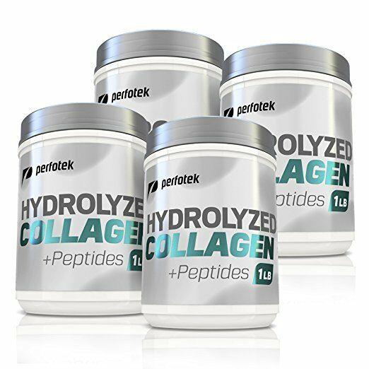 Collagen Powder Premium Peptides Hydrolyzed Anti-Aging Organic Protein 4x 1LB