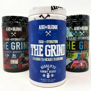 Axe & Sledge THE GRIND 30SRV Amino Acids BCAA EAA Hydration Recovery Xtend BCAA