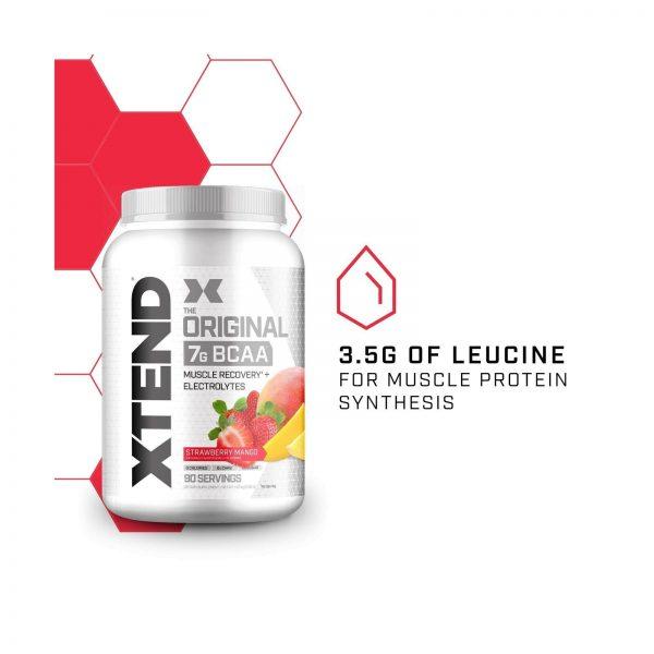 XTEND Original BCAA Powder Strawberry Mango   Sugar Free Post Workout Muscle ... 3