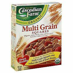 Cascadian Farm Multi Grain Sqrs (10x12.3OZ )