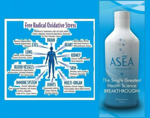 ASEA REDOX Water BEST BY 2018, 128 oz cell signaling gut digestive skincare 1