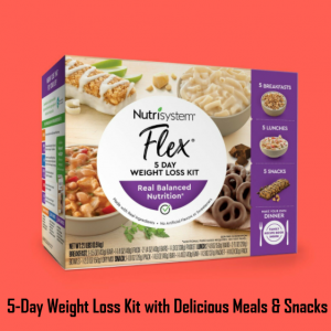 5-Day Weight Loss Meal Kit Nutrisystem Meals Nutrition Fitness Snacks Meals Food