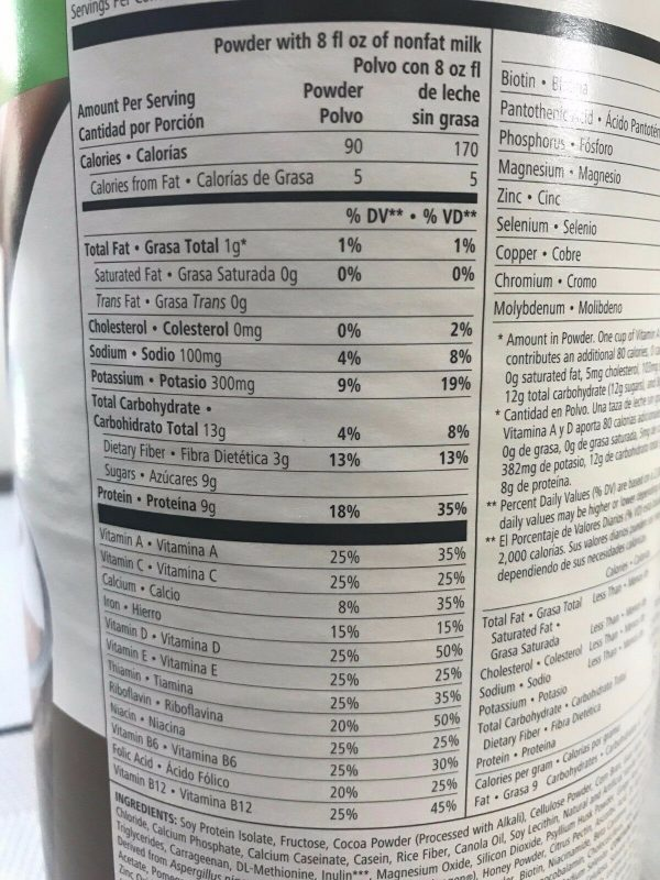 NEW 4X Herbalife Formula 1 Healthy Meal Nutritional Shake Mix 26.4oz ALL FLAVORS 2