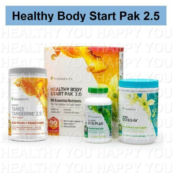 Healthy Body Start Pak 2.5 Youngevity PACK