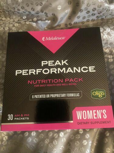 Melaleuca Peak Performance Nutritional Pack Am/Pm - Unopened Women 30 Day Supply