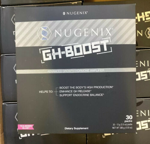 Nugenix GH Boost Tea Berry Blast  30 Pack FREE Expedited Shipping Authentic