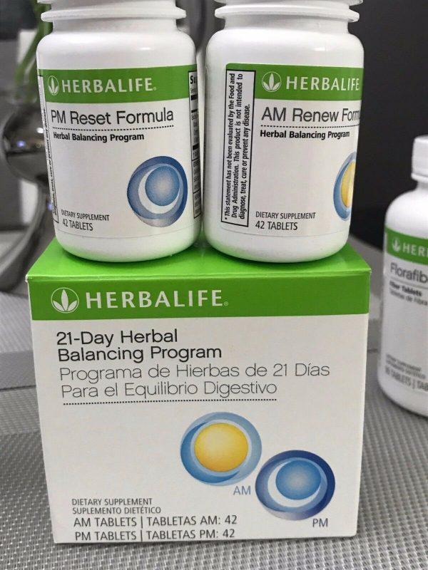 HERBALIFE Digestive Health Program, Herbal Aloe, 21 Day Balancin - Active Fiber 4