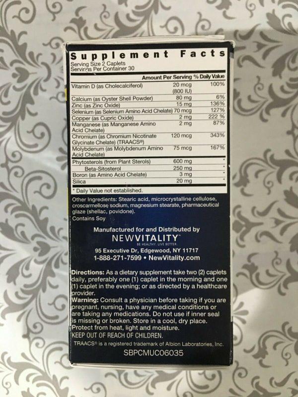 Super Beta Prostate 60 Caplets New Vitality 4 pack NIB 240 EXP FEB 2023 #0034 1