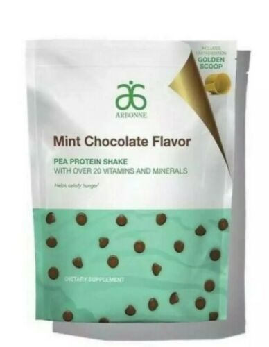 BRAND NEW bag, Arbonne Mint Chocolate Protein Powder, SOLD OUT