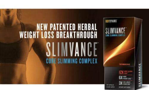 x2 Bodydynamix Slimvance Core Slimming Complex - 120CAPS Each , Exp 04/22 2