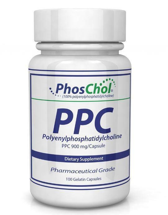 PhosChol 900mg- 100 Gelatin Capsules - Nutrasal- Dietary Supplement