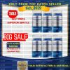 SALE LifeVantage Protandim NRF1 Synergizer 6 bottles - EXP 2022-2023
