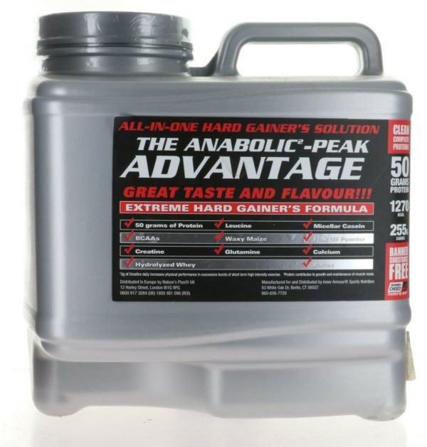 Inner Armour® Anabolic Peak Gainer 15Lbs ALL IN ONE HARD GAINER SOLUTION VANILLA 1