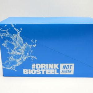 Case BioSteel Hydration Mix Electrolytes BLUE RASPBERRY Individual Packets 05/22 1