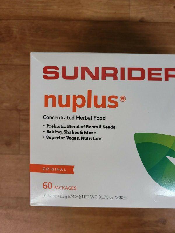 NO BEAN    SUNRIDER NUPLUS ORIGINAL  No Beans   60 BAGS 2