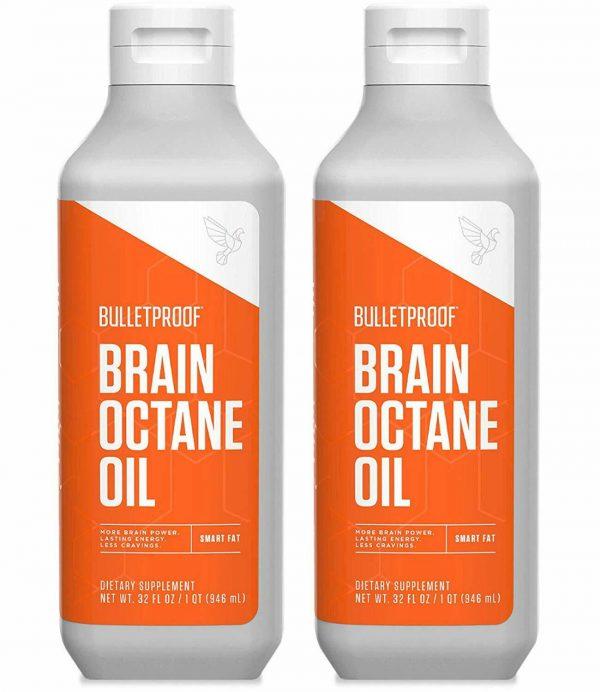 Bulletproof Brain Octane Oil - 2 x 32 oz - 64 oz Total - $39.99 Each!
