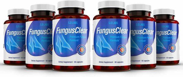 Fungus Clear Vitality Health Probiotic Toenail Supplement Pills - 360 CAPSULES