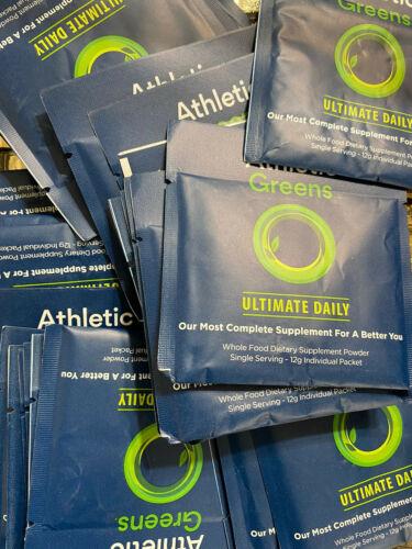 17 - 12g Individual Packets Athletic Greens Ultimate Daily Whole Food NEW NO BOX