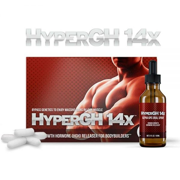 1 HyperGH 14x Box (Tablets) + 1 Bottle (Spray) Combo Muscle Growth Supplement 5