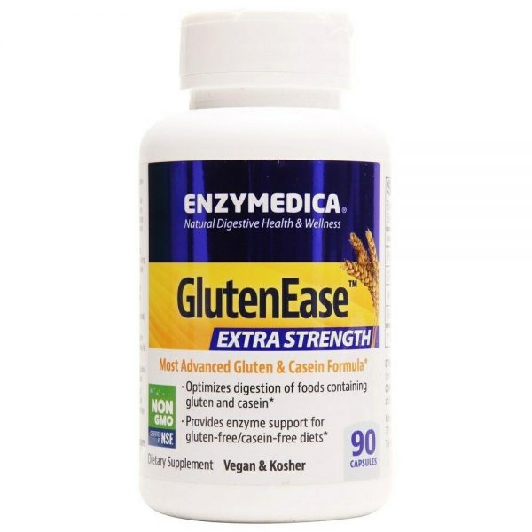 Enzymedica - GlutenEase Extra Strength - 180 Capsules