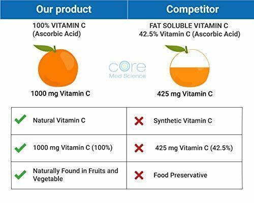 Core Med Liposomal Vitamin C Softgels 1000mg/dose - Quali®-C 3 Month  1