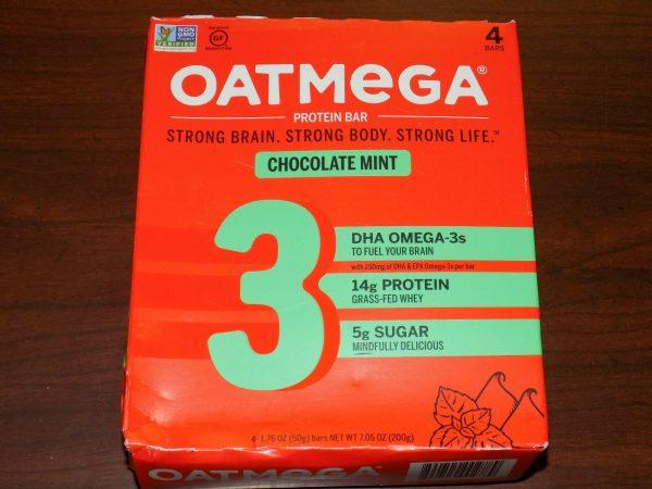 84 OatMega Protein Bars 3 Flavors Vanilla Almond, Choc Mint & Choc Peanut 09/21+ 5