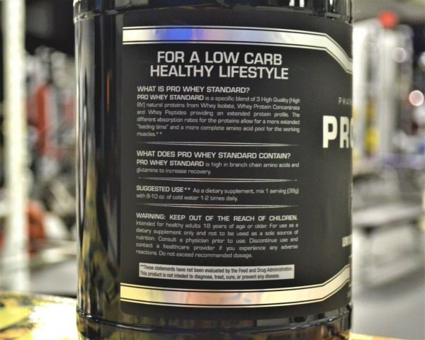 MASN PRO WHEY Protein Powder 10 lbs CHOCOLATE ProWhey 130 Servings  1
