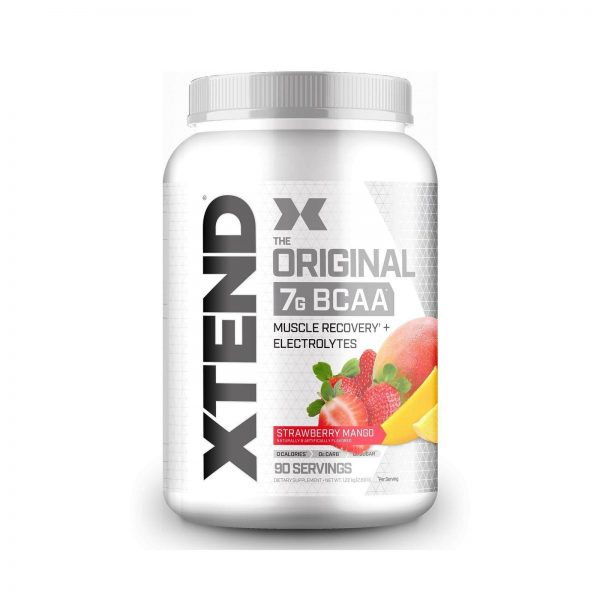 XTEND Original BCAA Powder Strawberry Mango   Sugar Free Post Workout Muscle ...