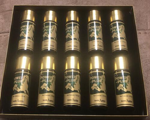 POWER - PLUS Drink Ginseng Energy Herb Bottles 1 Oz X 10 Count Bottles 2