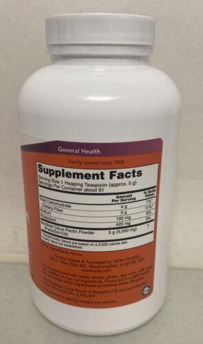 Now Foods Modified Citrus Pectin Pure Powder 1 lb (454 g) EXP 09/2021 1