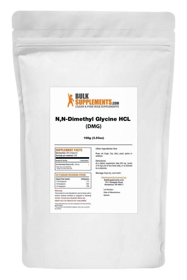 BulkSupplements.com N,N-Dimethyl Glycine HCl (DMG HCl) - Sleep Powder 1