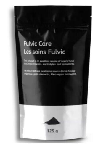 BLACK OXYGEN Organics POWDER Fulvic/Humic Powder in a 125g Pouch