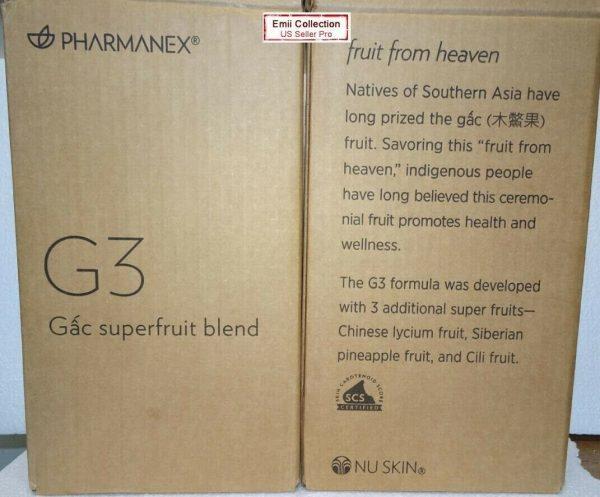 Nuskin Nu Skin Pharmanex Gac G3 Juice Pack of 2 Bottles Sealed New Exp 01/2022 3