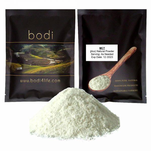 MCT Oil Powder (Vegan Coconuts Extract, NON-GMO) - Purity Lab Grade (4oz > 32oz)