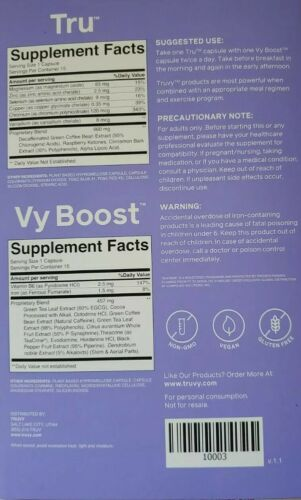 Truvision weight loss Tru vy  You will get 1 month supply of both  New packaging 1