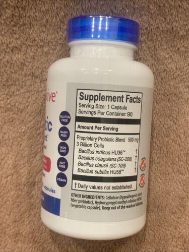 Just Thrive® Probiotic & Antioxidant 90 Capsules 90 days VEGAN, Exp 01/2026 1