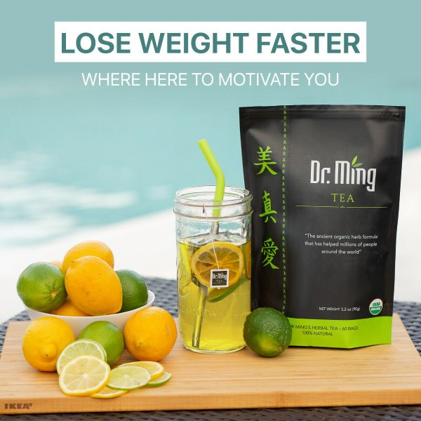 Dr. Ming's All-Natural Detox Slimming Tea for Weight Loss (60 bags) 2
