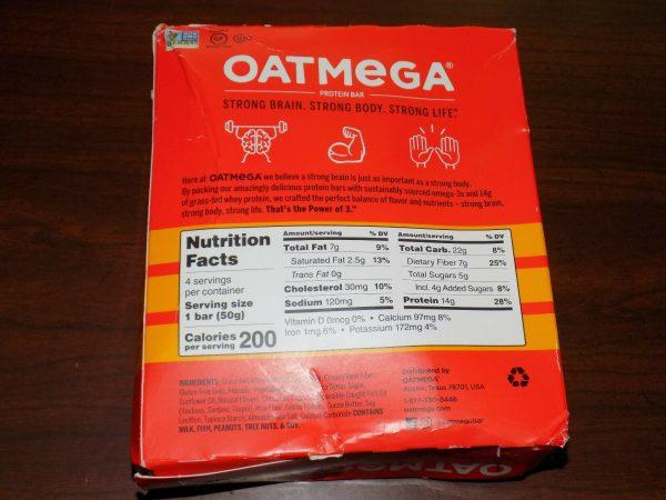 84 OatMega Protein Bars 3 Flavors Vanilla Almond, Choc Mint & Choc Peanut 09/21+ 9