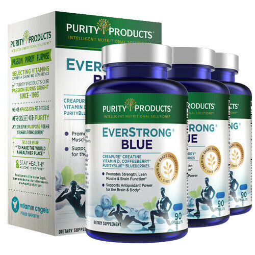 EverStrong Blue Purity Products Muscle Matrix Blend Strength Builder 3X90 Tabs