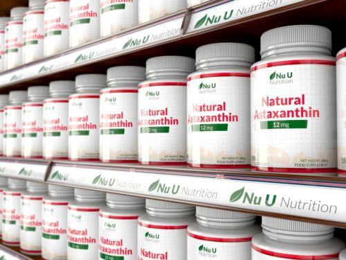 Astaxanthin 12mg - 4 x 180 Softgels (6 Month Supply) High Strength astaxanthin 6
