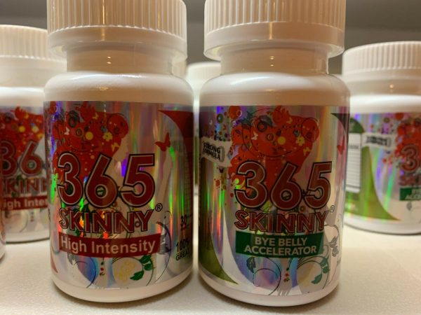 365 Skinny Bye Belly Accelerator and New 2021 High Intensity Combo  1