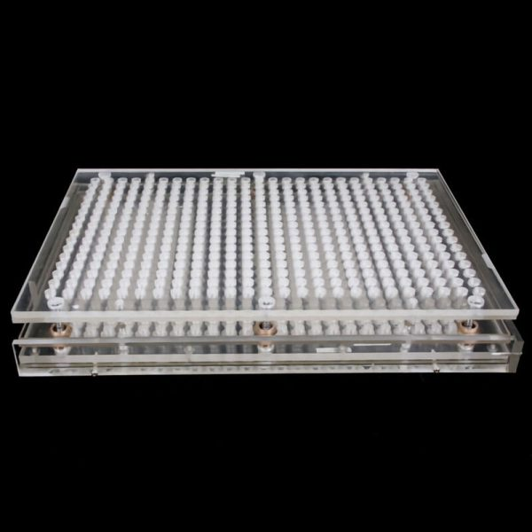 Capsule Fillings Machine 400 Holes Size 000# Plexiglass without Tamper Tool 3