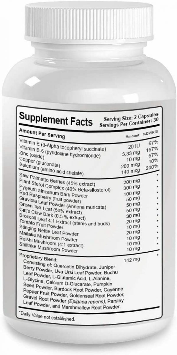 Prostate 911 - Phytage Labs (Official – 60 Capsules) All Natural Plant Based... 2
