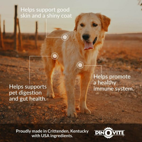 Dog Supplement - Immune + Digestive, Skin + Coat Support, Vitamins, Miner... New 2